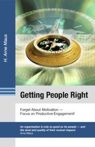 Cover of the Book Getting People Right from Arne Maus